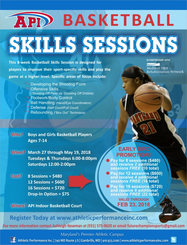 Basketball Skills Session